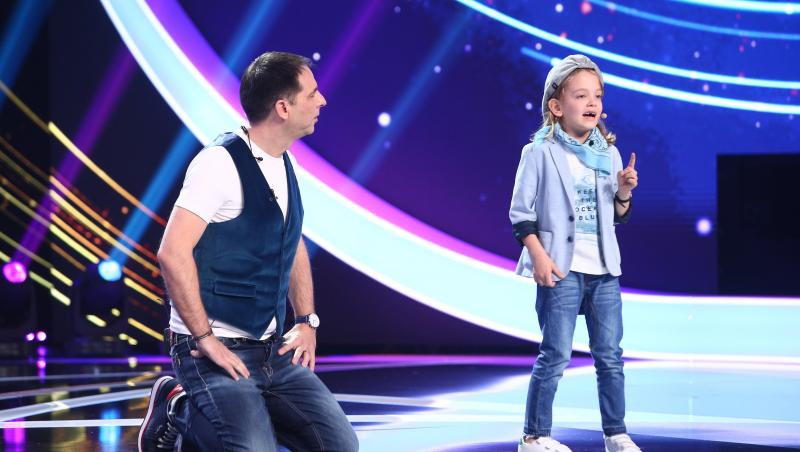 David Dumitrescu, show de umor la Next Star 2021