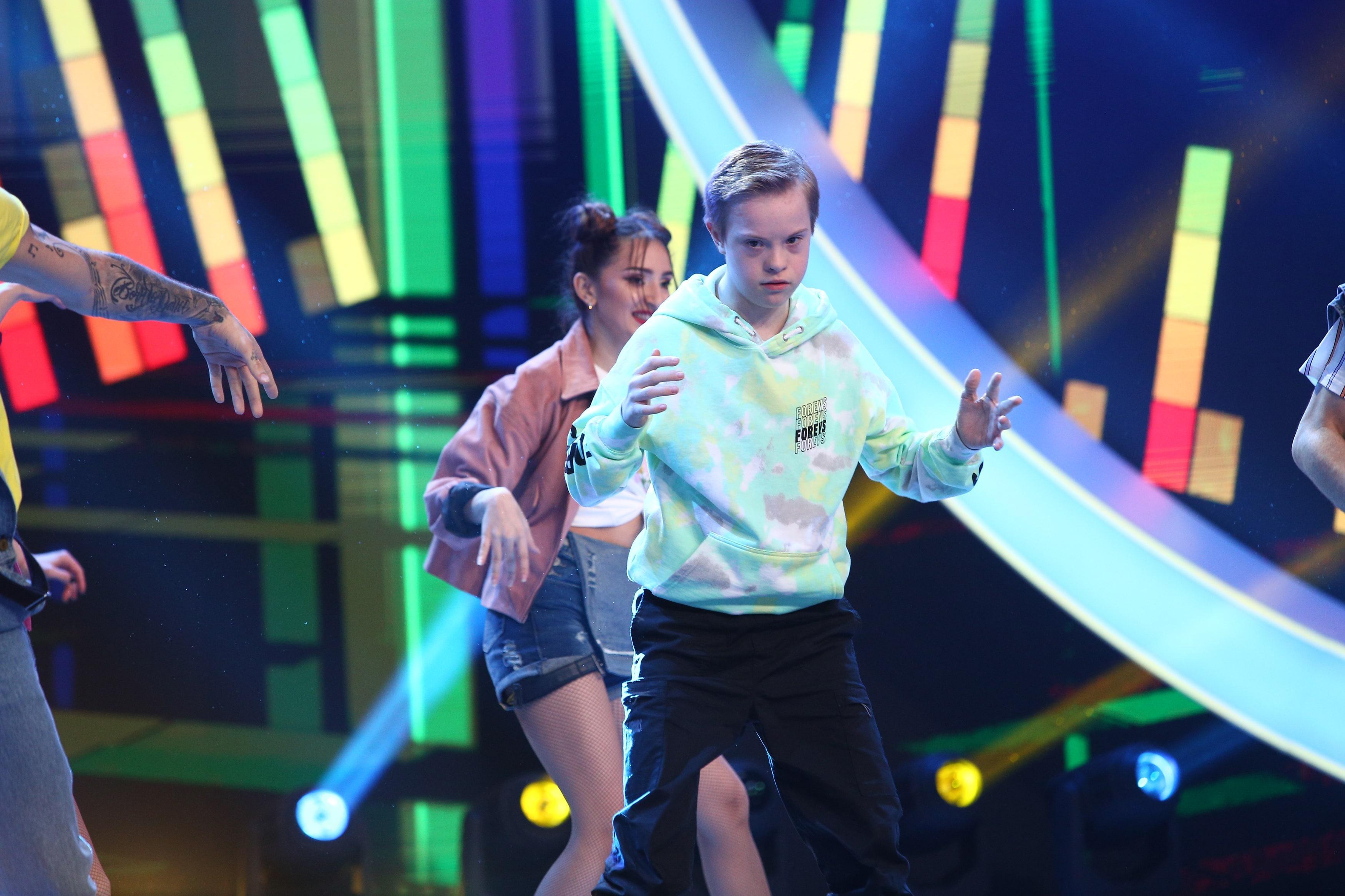 Next Star, 3 iulie 2021. Vlad Negoiță, momentul unic de dans care le-a adus lacrimi în ochi juraților