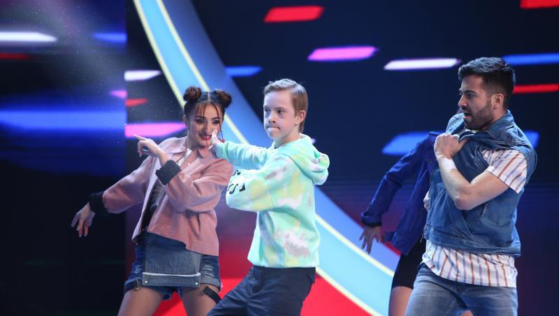 Vlad Negoiță, moment de dans emoționant