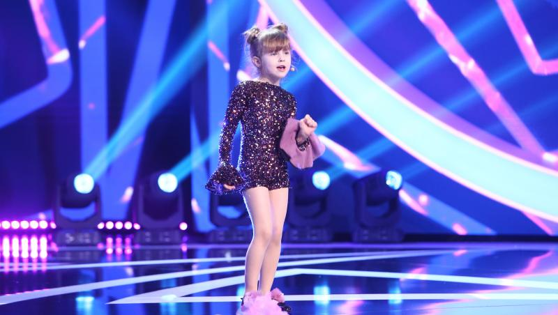 Raisa Brânză, cu tot arsenalul de talente la Next Star 2021