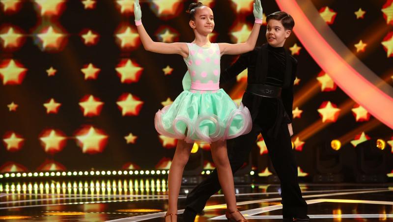 Diana Săndulescu și Rareș Drăgustescu, la Next Star 2021