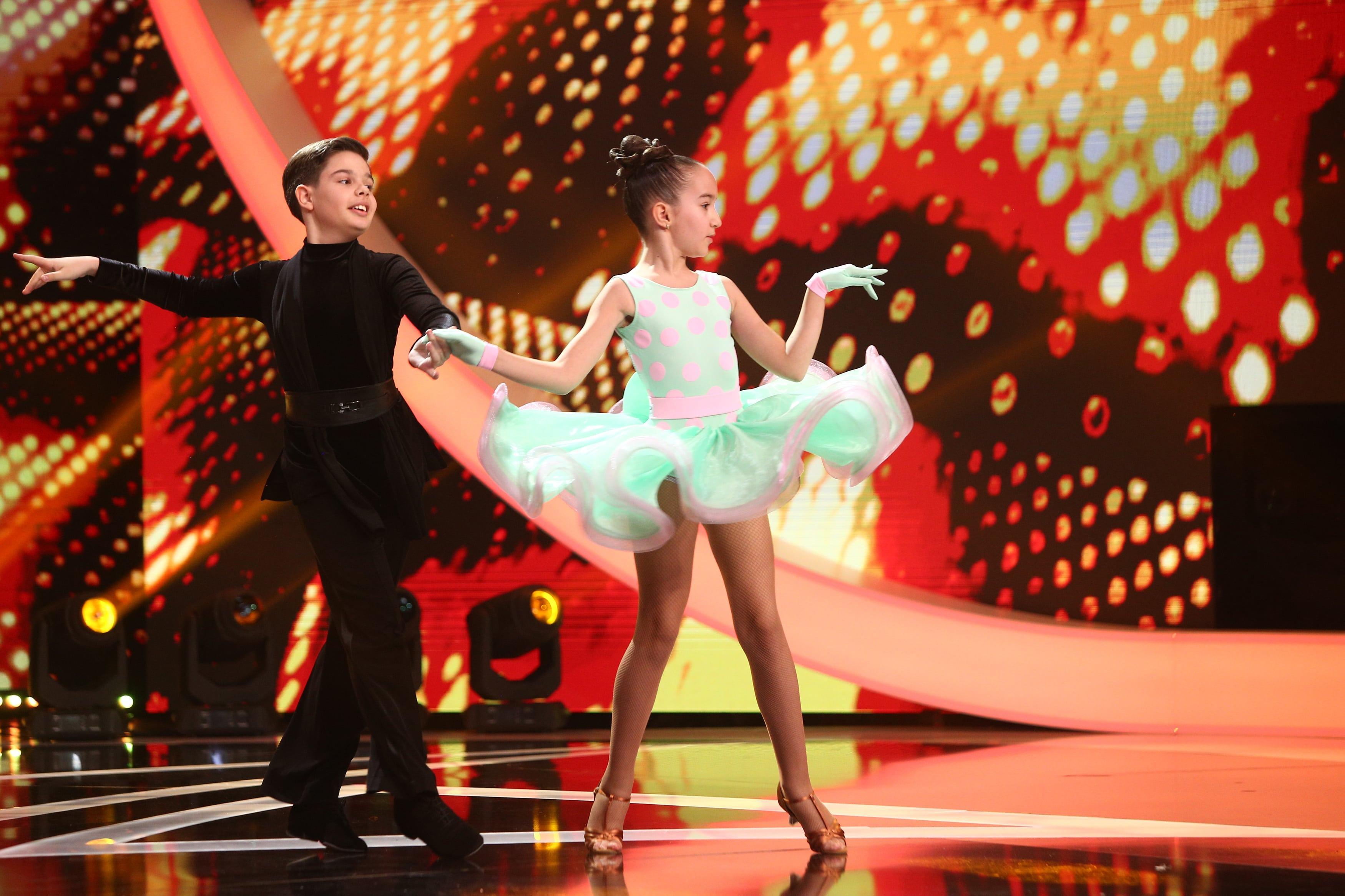 Next Star, 3 iulie 2021. Săndulescu Diana și Drăguțescu Rareș, momentul de dans pentru care au primit note de 10 de la jurați