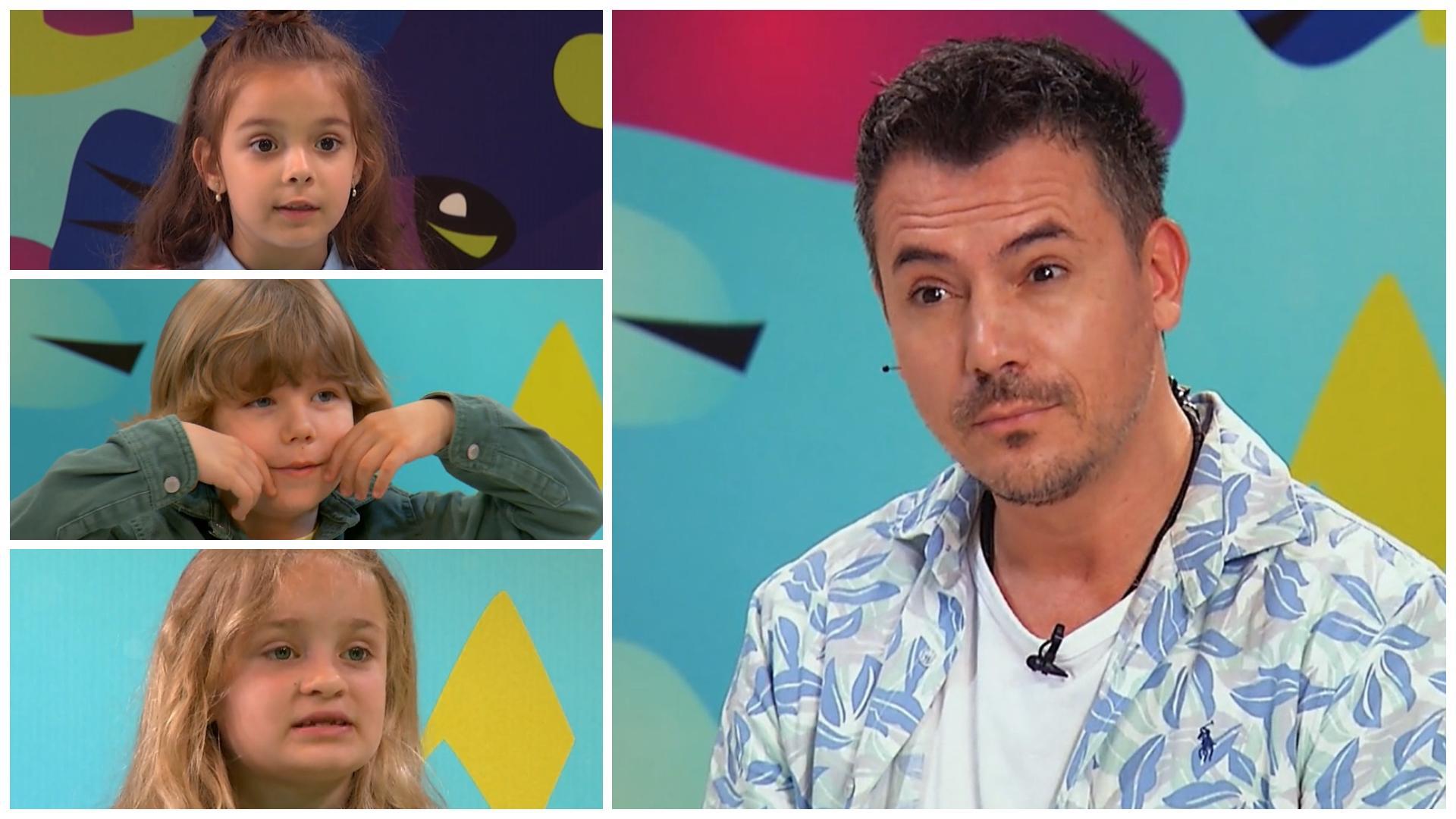 """Alpha Kids, episodul 1. Ce spun copiii despre iubire: """"Am  doar un singur iubit care e om. Ceilalți sunt din desene"""""""