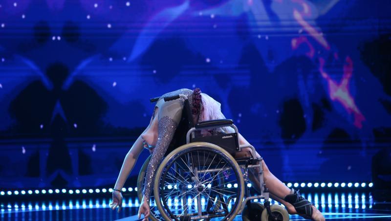 Anne Maria Lutch, dans acrobatic pe scena Next Star 2021