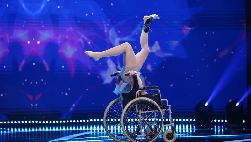 Anne Marie Lutch a venit la Next Star 2021 pentru a le oferi copiilor cu dizabiități o lecție de forță și curaj