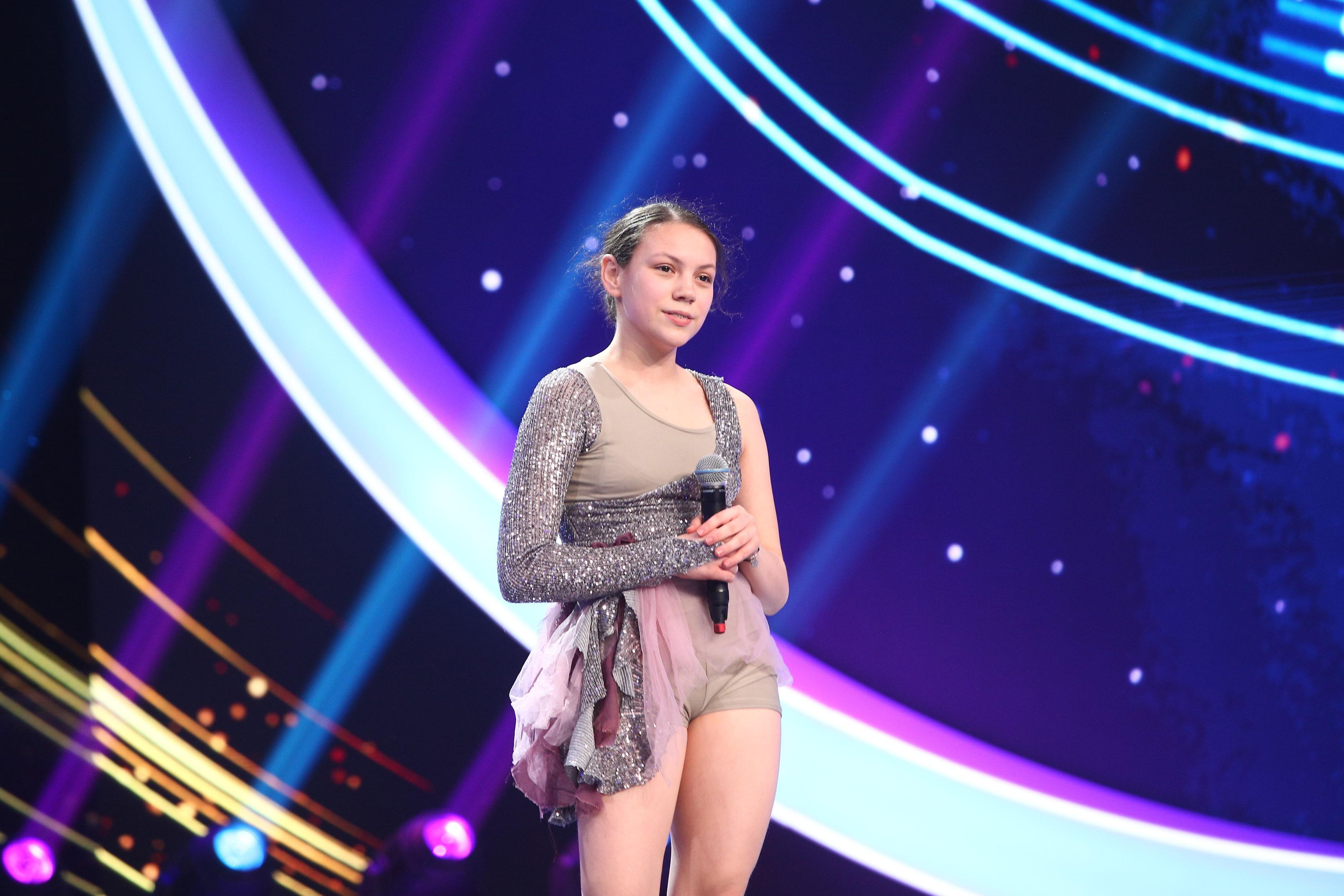 Next Star, 3 iulie 2021. Annemarie Lutsch, dansul prin care și-a spus povestea de viață emoționantă. Cum au reacționat jurații