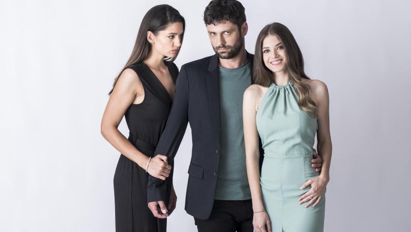 Mara Oprea și Oana Moșneagu, alături de Alecsandru Dunaev