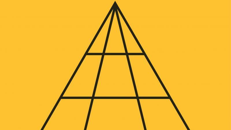 imagine cu un triunghi sectionat