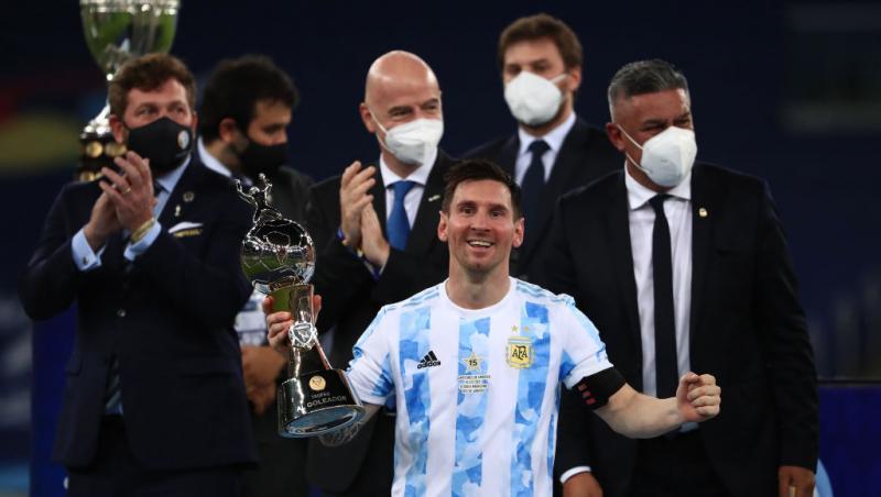 Leo Messi, bucurie mare