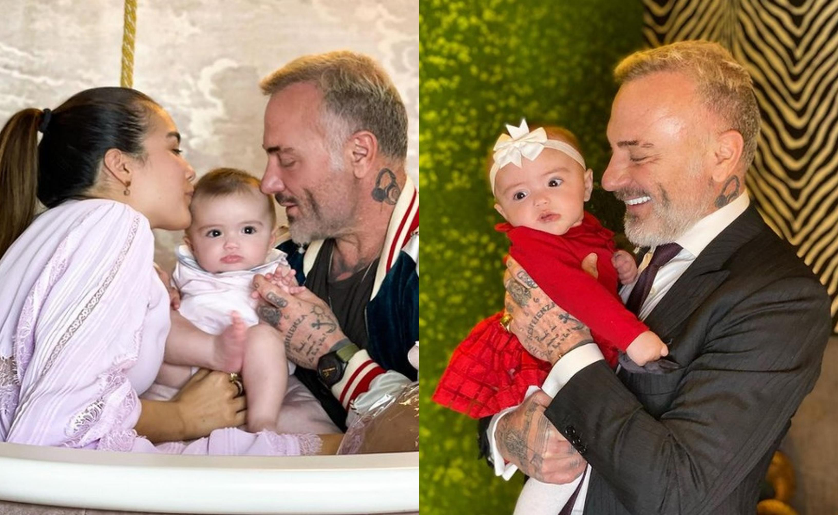 Gianluca Vacchi și Sharon Fonseca, fiica