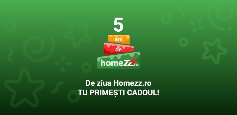 (P) De ziua HomeZZ.ro, tu primești cadoul!