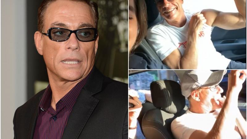 Jean-Claude Van Damme a venit în România. Actorul se distrează pe manele