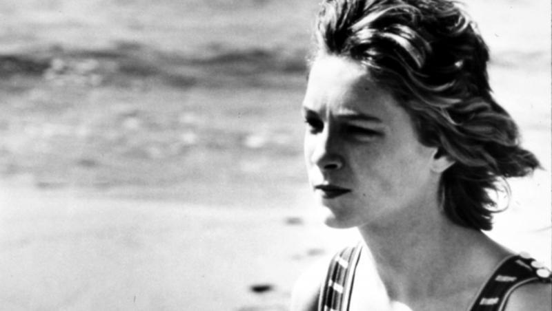 bjorn andresen la 15 ani, poza alb-negru, la mare