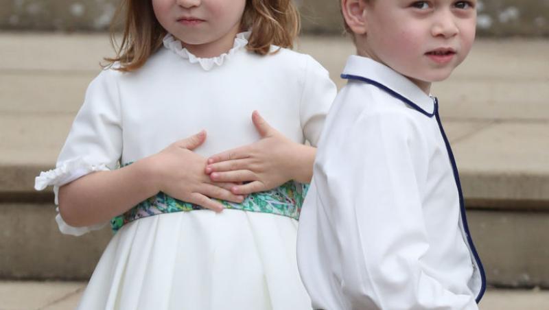 Prințul George și surioara lui, Prințesa Charlotte