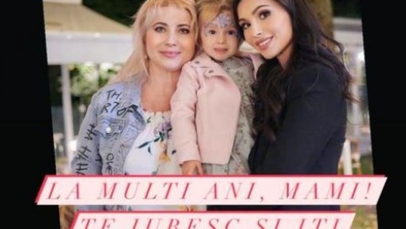 Anda Călin, mama ei și fiica ei