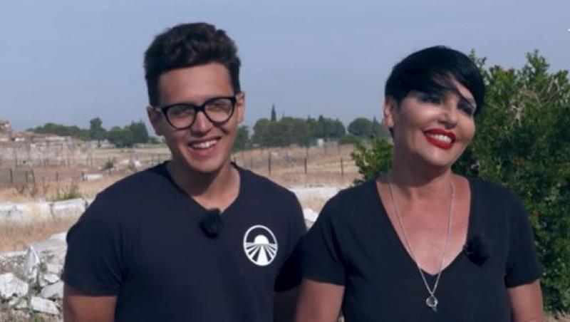 """Patrizia Paglieri și Francesco, despre experiența Asia Express: """"Fiecare zi acolo e ca un an în București"""""""
