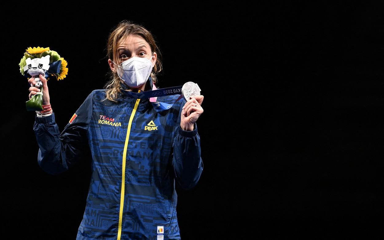 Jocurile Olimpice 2020. Ana Maria Popescu a câștigat argintul la spadă. Prima medalie pentru România la JO de la Tokyo