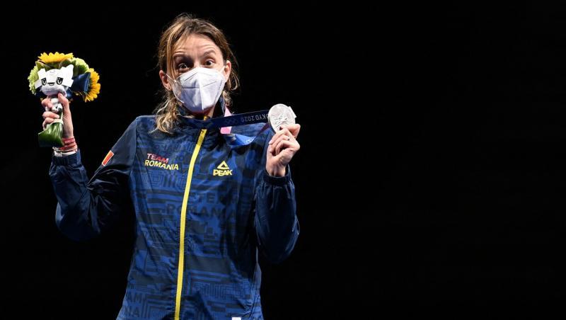 Ana Maria Popescu, cu medalia de argint