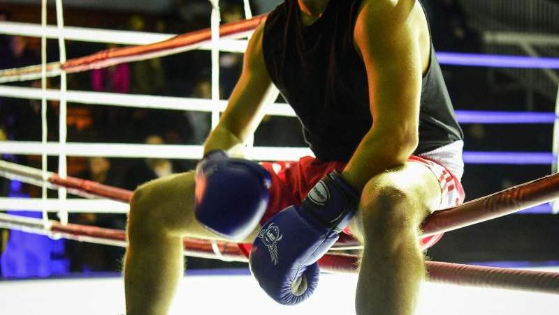 vlad dragulin in baieti de oras in ringul de box