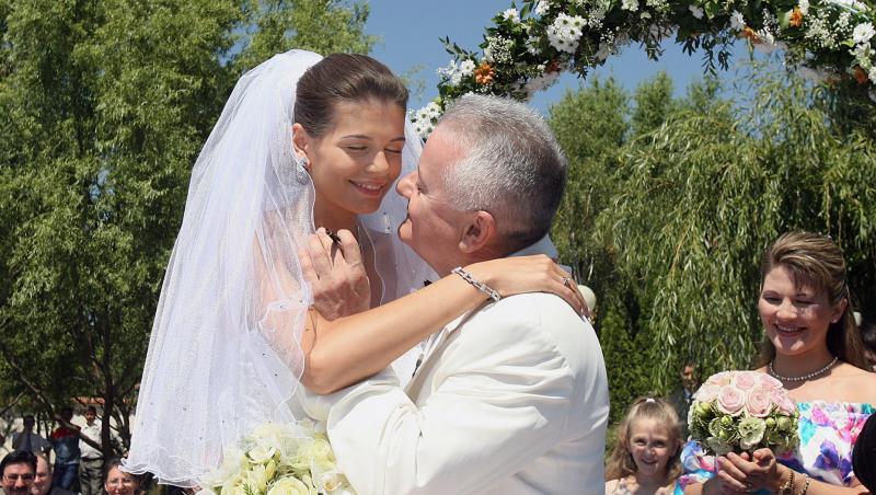 Monica Gabor și Irinel Columbeanu, lapropria nuntă