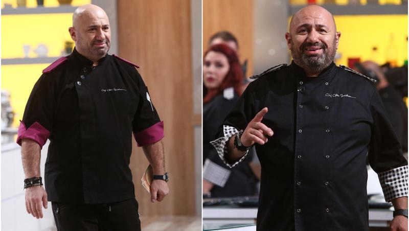 Chef Cătălin Scărlătescu la Chefi la Cuțite