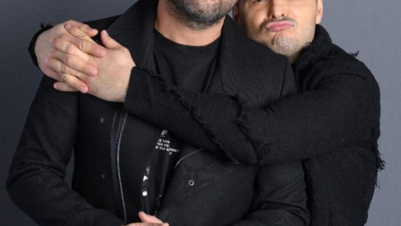 Liviu Vârciu îl îmbrățișează pe Andrei Ștefănescu