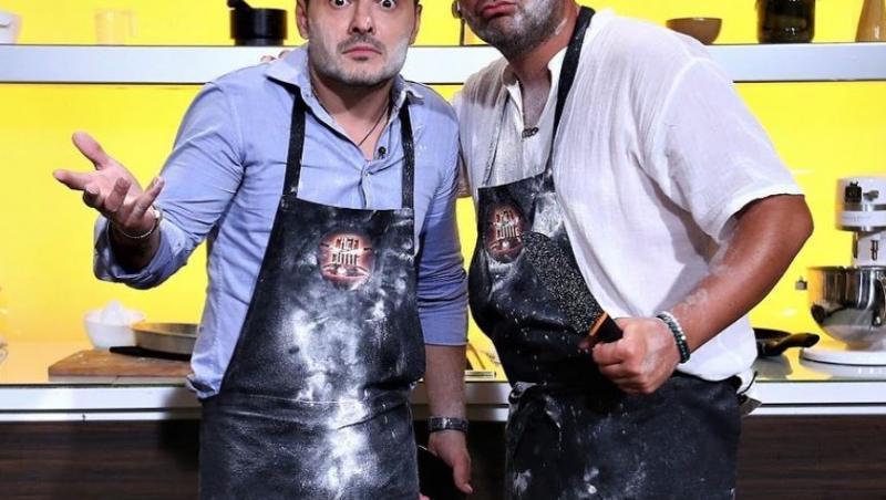 Liviu Vârciu și Andrei Ștefănescu la Chefi la Cuțite