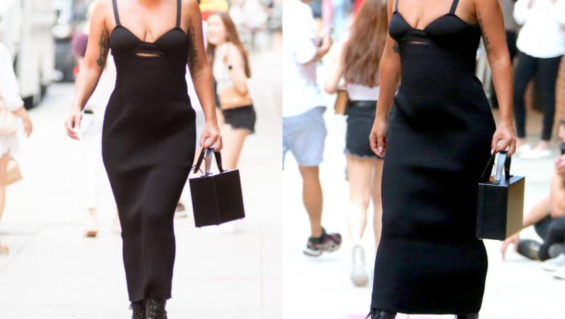 Lady Gaga în două ipostaze asemănătoare