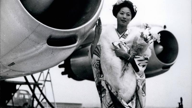 Akiko Kojima din Japonia -Miss Univers 1959
