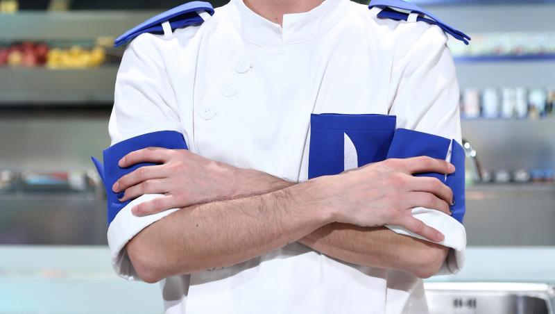 keed (david ionita) in sezonul 9 Chefi la cuțite, in tunica de bucatar