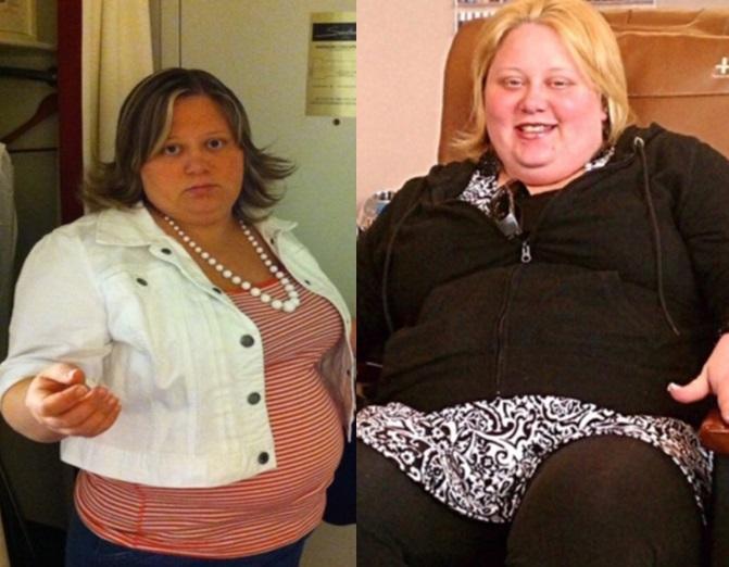O femeie a slăbit 74 de kilograme după ce a renunțat la un aliment. Cum arată azi Julie Garte