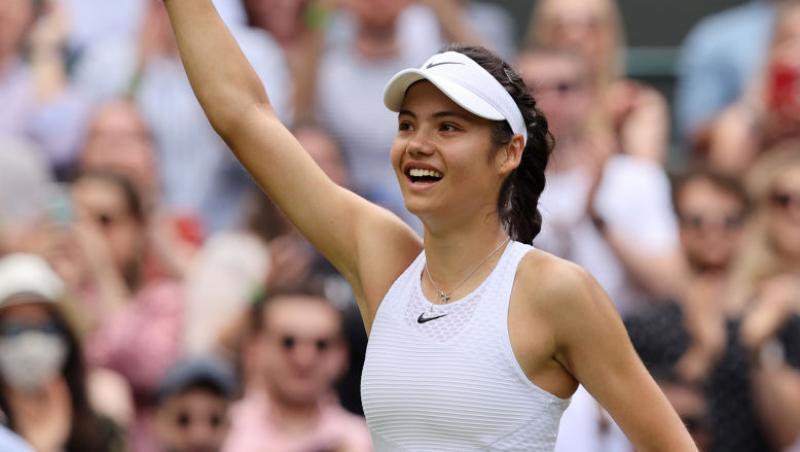 Emma Răducanu a eliminat-o pe Sorana Cîrstea la Wimbledon