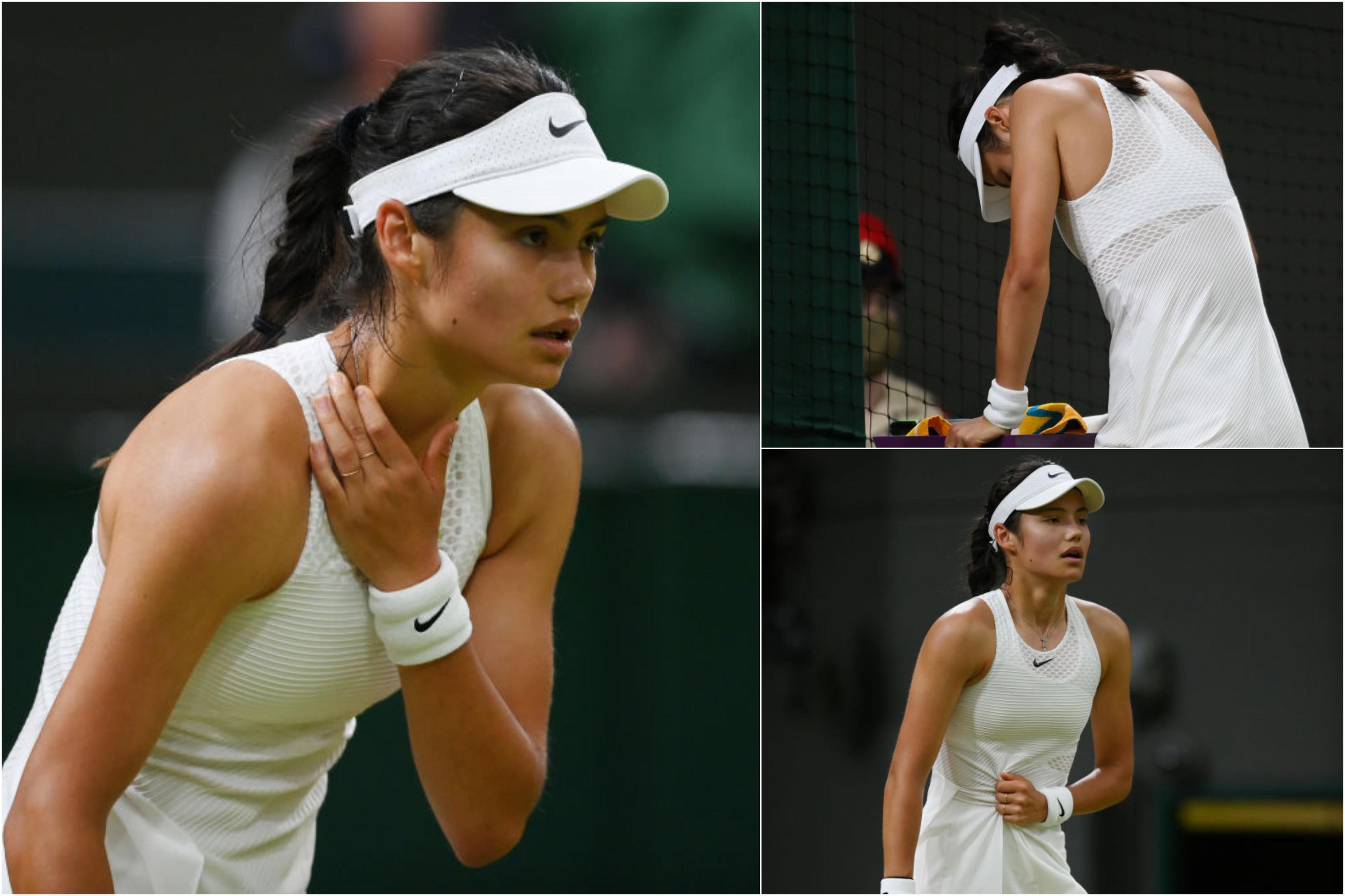 Emma Răducanu a abandonat la Wimbledon. Tânăra-fenomen a acuzat probleme cu respirația pe teren. Ce scriu publicațiile britanice