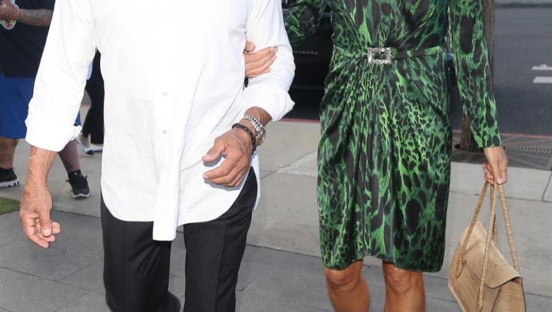 Stallone și soția lui, îmbrăcați elegant