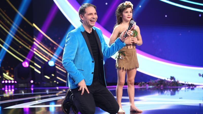 Denisa Bălan, pe scena Next Star 2021, cu un număr impecabil de dans și gimnastică