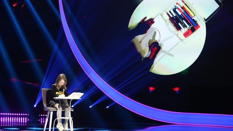 Adriana Păunescu, nepoata lui Adrian Păunescu, pe scena Next Star 2021