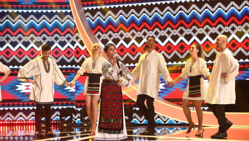 Ana Burciu, cântec popular pe scena Next Star 2021