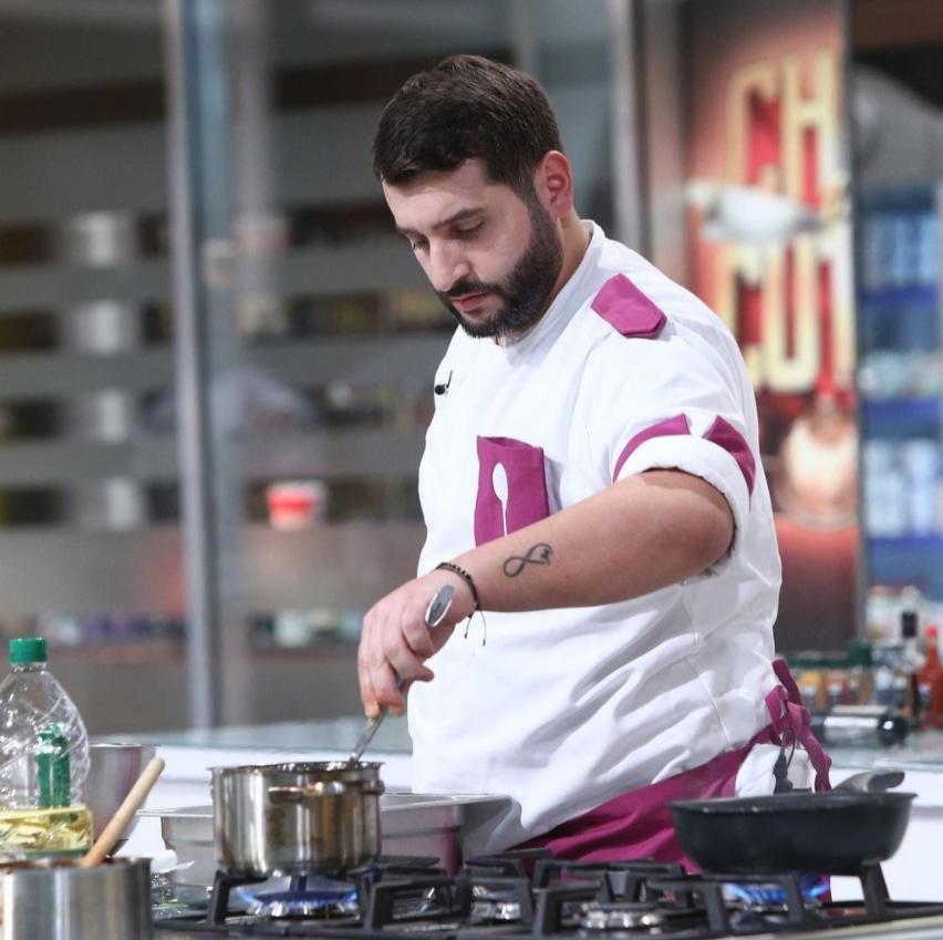 Vicenzo Aiello, gătind la Chefi la cuțite