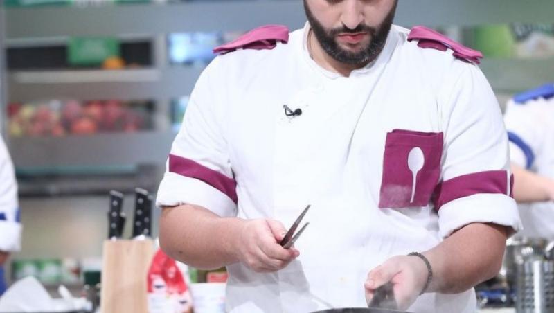 Vicenzo Aiello a făcut parte din echipa mov în sezonul 9 de Chefi la cuțite