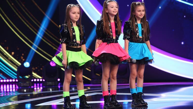 Lucky Girls, trupa de fete care a fost recompensată cu 3 voturi de DA