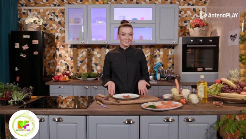 roxana  blenche in bucatarie, la beautifood