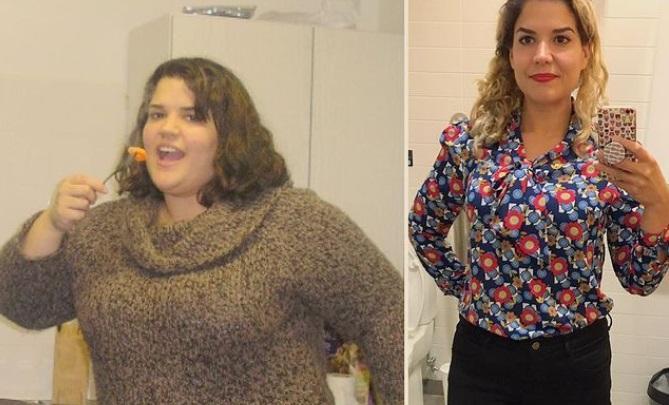 O femeie a slăbit 63 de kilograme mâncând bacon și alte alimente preferate. Ce secret a folosit Alexa Fears