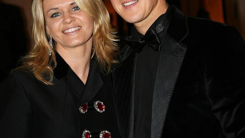 Michel Schumacher și soția lui, Corinna