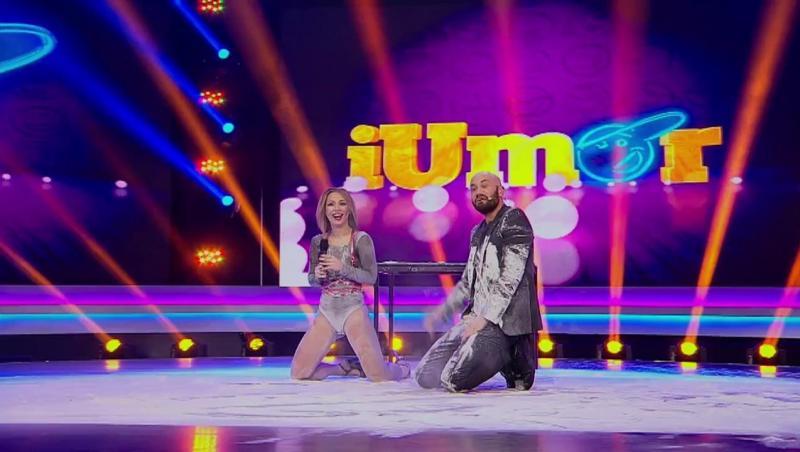 Antonina și Mihai Bendeac pe scena iUmor