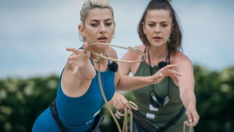 Lidia și Estera Buble, echipă la Asia Express