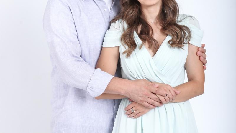 Mihai Călin și Mara Oprea, actorii din serialul Adela