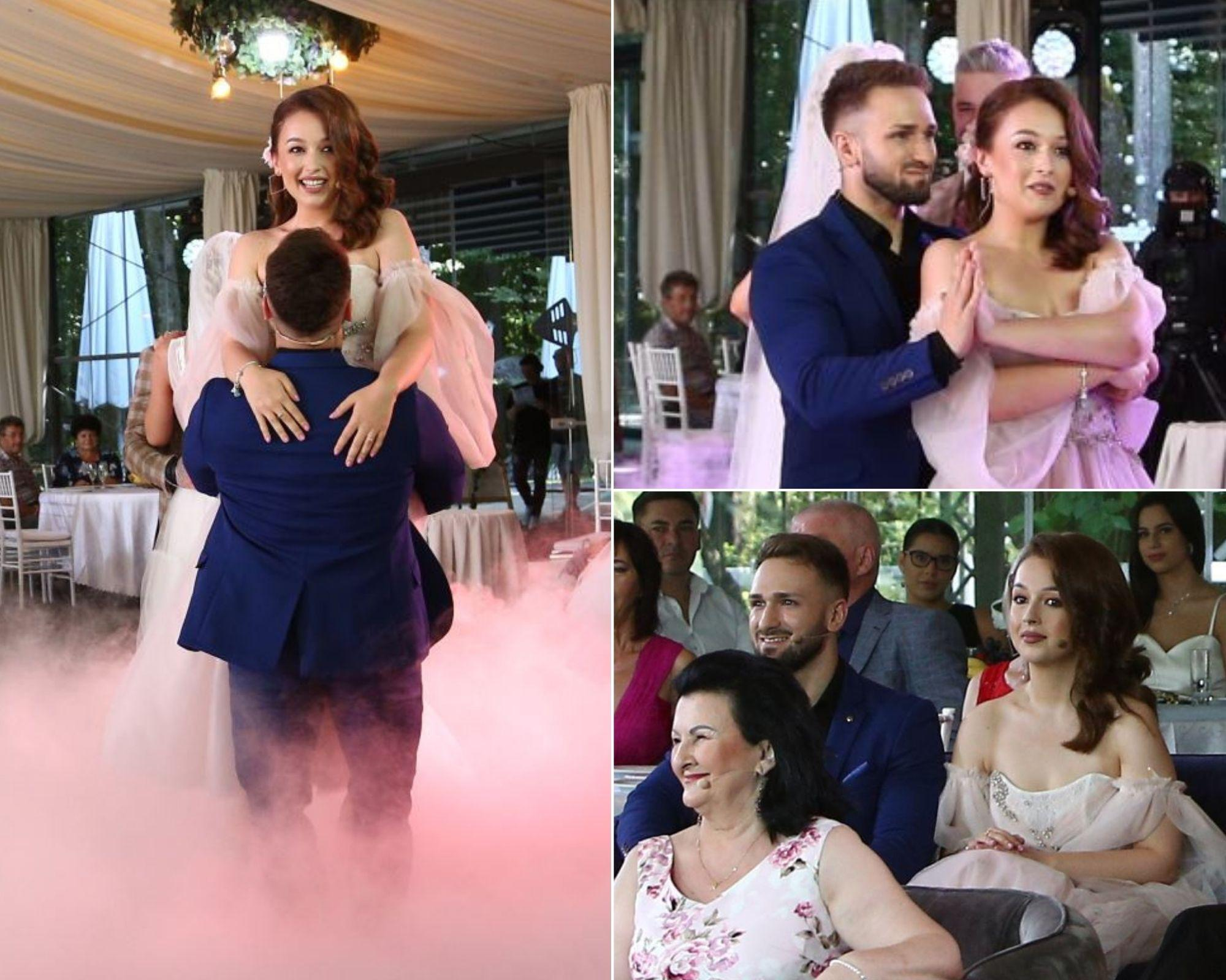 Mireasa 2021, sezon 3. Primul lucru pe care l-au făcut Cosmina, Alin și doamna Daniela după Finală
