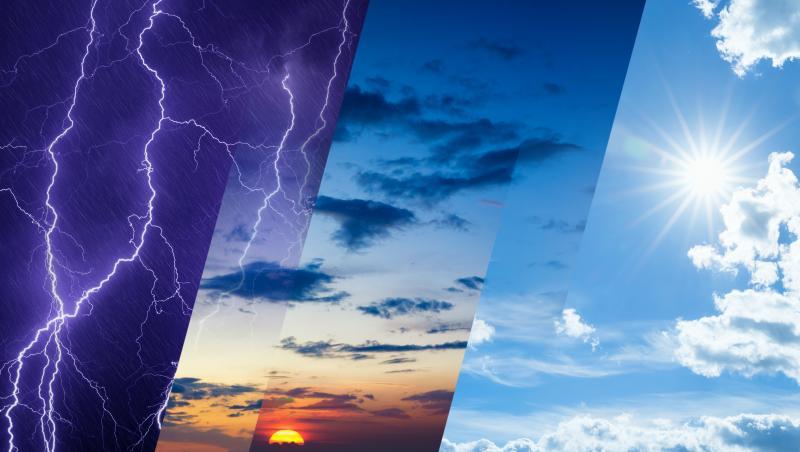 Vremea în România, luna august