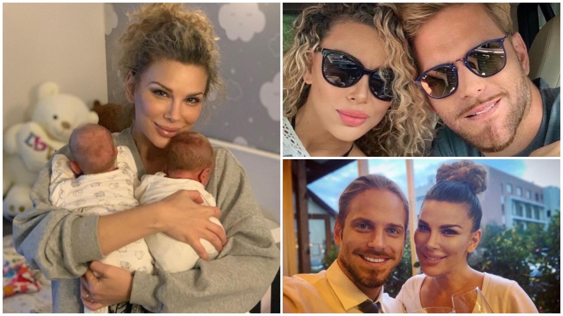 """Cum arată gemenii Alinei și ai lui Ilan Laufer, la 5 luni după ce au fost născuți prematur: """"Suntem bine"""""""