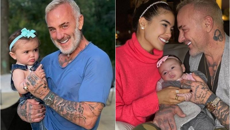 Gianluca Vacchi, Sharon Fonseca și fiica lor, Blu Jerusalema